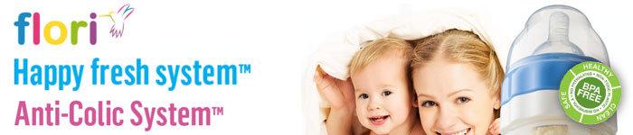 FLORIBOTTLE™- -Babymelkfles