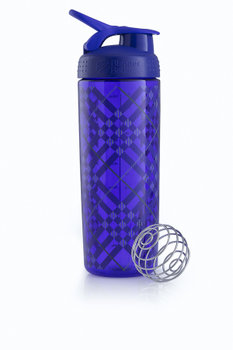 BlenderBottle™ SIGNATURE SLEEK Paars Tratan Plaid met oog - Eiwitshaker/Bidon - 820 ml