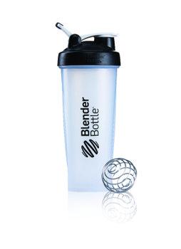 BlenderBottle™ CLASSIC Extra Big Zwart Transparant met oog - Eiwitshaker / Bidon  - 940 ml