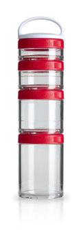 BlenderBottle™ GOSTAK Rood - Starter 4Pak opbergbakjes - 40ml/60ml/100ml/150ml