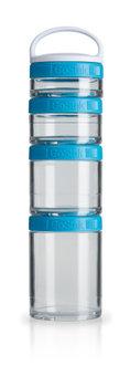 BlenderBottle™ GOSTAK Aqua - Starter 4Pak opbergbakjes - 40ml/60ml/100ml/150ml