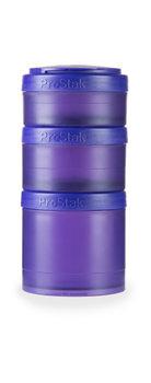 BlenderBottle™ EXPANSION PAK Paars - 3 Opbergbakjes voor Pro Stak - Full Colour - 100ml/150ml/250ml