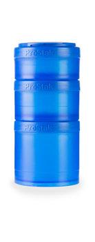 BlenderBottle™ EXPANSION PAK Blauw - 3 Opbergbakjes voor Pro Stak - Full Colour - 100ml/150ml/250ml