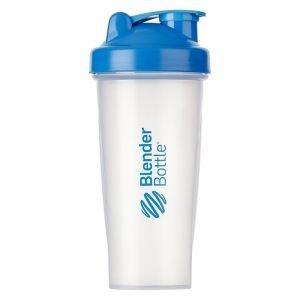 BlenderBottle™ CLASSIC Big Cyaan Transparant - Eiwitshaker / Bidon  - 820 ml