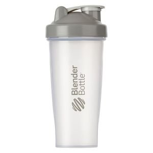 BlenderBottle™ CLASSIC Big Grijs Transparant - Eiwitshaker / Bidon  - 820 ml