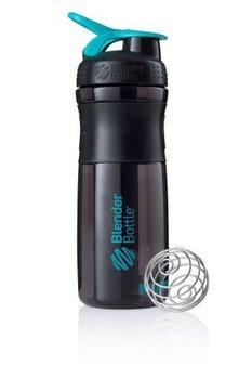 BlenderBottle™ SPORTMIXER Big Zwart/Azuurblauw/Teal met oog - Eiwitshaker / Bidon  - 820 ml