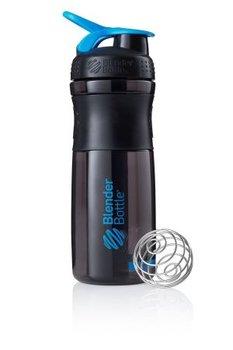 BlenderBottle™ SPORTMIXER Big Zwart/Cyaan met oog - Eiwitshaker / Bidon  - 820 ml