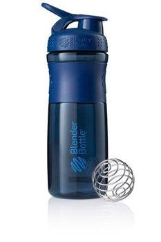BlenderBottle™ SPORTMIXER Big Navyblauw met oog - Eiwitshaker / Bidon  - 820 ml