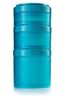 BlenderBottle™ EXPANSION PAK Azuurblauw/Teal - 3 Opbergbakjes voor Pro Stak - Full Colour - 100ml/150ml/250ml