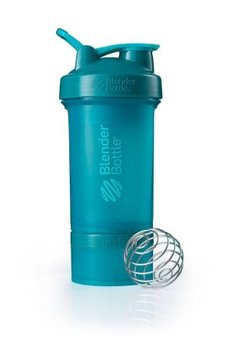 BlenderBottle™ PROSTAK Azuurblauw/Teal FC - Eiwitshaker / Bidon  - 650 ml