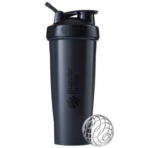 BlenderBottle™ CLASSIC Extra Big Fashion Zwart FC met oog - Eiwitshaker / Bidon / Shakebeker  - 940 ml