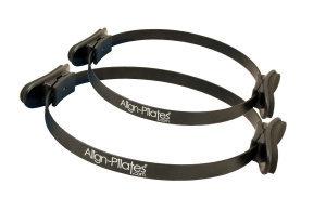 FitnessMAD™ -  Align Pilates Ring - Enkele Handgreep - Staal - Diameter 30 cm