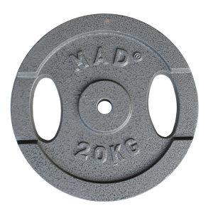 FitnessMAD™ - 20 KG Plate, 25.4mm