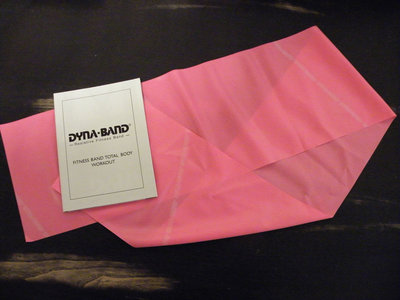 Losse DynaBand Roze - Lichte weerstand