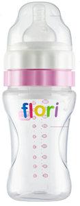 Flori Bottle™  De Unieke Baby drinkfles