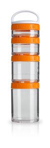 BlenderBottle™ GOSTAK Oranje - Starter 4Pak opbergbakjes - 40ml/60ml/100ml/150ml