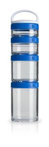 BlenderBottle™ GOSTAK Blauw - Starter 4Pak opbergbakjes - 40ml/60ml/100ml/150ml
