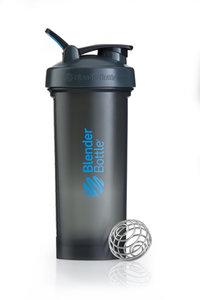 BlenderBottle™ PRO45 Zwart met blauwe opdruk en oog - Eiwitshaker/Bidon - 1,3 Liter