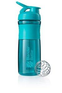 BlenderBottle™ SPORTMIXER Big Azuurblauw/Teal met oog - Eiwitshaker / Bidon  - 820 ml