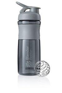 BlenderBottle™ SPORTMIXER Big Grijs met oog - Eiwitshaker / Bidon  - 820 ml