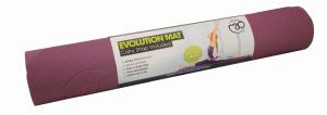 FitnessMAD™ - Evolution Yoga Mat - Geen Phthalaat - Latexvrij - Dikte 4mm - Aubergine/Grijs