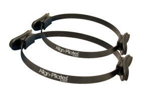 FitnessMAD™ -  Align Pilates Ring - Enkele Handgreep - Staal - Diameter 35 cm