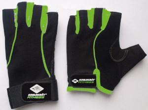 Schildkrot™ Fitness - Fitnesshandschoenen Comfort - Maat L/XL - Zwart/Groen