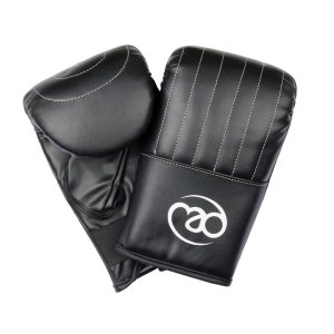 FitnessMAD™ - Bokshandschoen stootkussen  - Kunstleder - Paar- Extra Large - Zwart