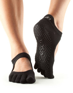 TOESOX™ - Full Toe  Bellarina Black Large. (Maat: medium - large)