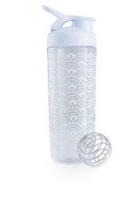 BlenderBottle™ SIGNATURE SLEEK Wit Clamshell met oog  - Eiwitshaker/Bidon - 820 ml