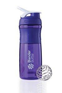 BlenderBottle™ SPORTMIXER Big Paars met oog - Eiwitshaker / Bidon / Shakebeker - 820 ml