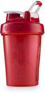BlenderBottle™ CLASSIC Small Rood FC met oog - Eiwitshaker / Bidon / Shakebeker - 590 ml