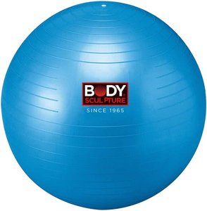 Body Sculpture Fitnessbal - Diameter 65 cm - PVC - Blauw