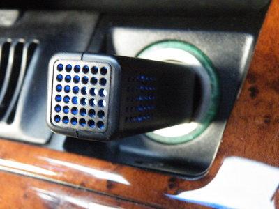 Airganix™ Carcloud ZWART. Schone lucht in de auto. Last van hooikoorts?