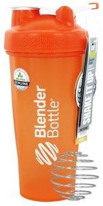 BlenderBottle™ CLASSIC Big Oranje FC met oog - Eiwitshaker / Bidon / Shakebeker - 820 ml